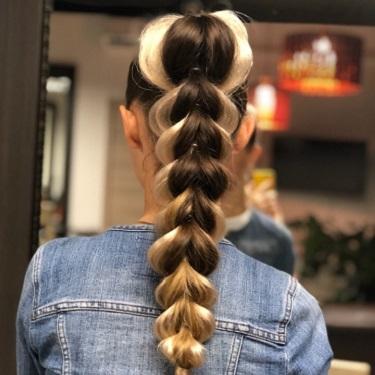 Коса - миниатюра