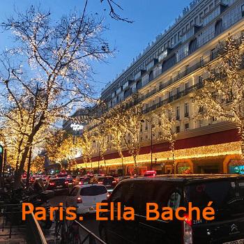 Париж. Ella Baché